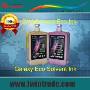 Dx5 Head Ink for Mimaki Mutoh Galaxy Printer with Dx5 Eco Solvent Printhead