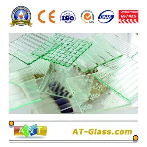 3~8mm Patterned Glass/Figured Glass/Pattern Glass Used for Window, Furniture, Bathroom, Building etc pictures & photos