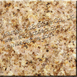 Rusty Yellow Granite G682 Granite Slabs & Tiles, Sunset Gold Granite pictures & photos