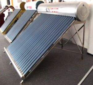 All Stainless Heat Pipe Solar Water Heater (SPP) pictures & photos