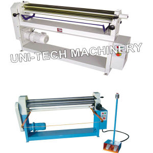 Electric Horizontal Slip Roll Bending Machine pictures & photos