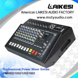 Pmx1202D Power Mixer with Amplifier 12 Channels and USB pictures & photos