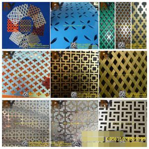 Architectural Wire Mesh Perforated Metal Sheet for Building Decoration pictures & photos