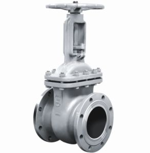 GOST Cast Steel Gate Valve PN16 pictures & photos