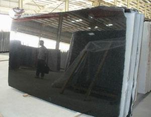 High Quality Absolute Black Granite, Black Granite Slabs and Granite Tiles pictures & photos