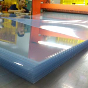 China Manufacturer Transparent Clear Rigid Plastic PVC Thermoforming Sheet pictures & photos