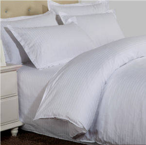 High Quality 5 Star Hotel Luxury 3cm Stripe Pillowcase pictures & photos