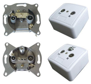 Indoor CATV Outlets/ Socket pictures & photos