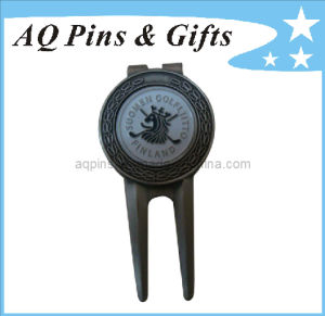 Professional Manufacturer Golf Divot Tool with Ball Marker (Golf-01) pictures & photos
