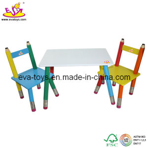 Kids Study Desk and Chair (W08G022) pictures & photos