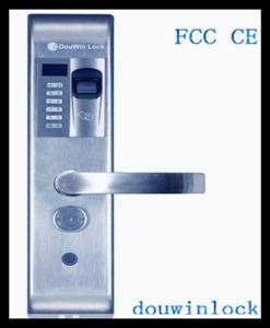 Household Fingerprint Door Handle Code Locks pictures & photos