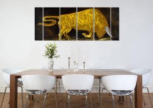 Bullfight Excellent Metal Aluminum Wall Art Handcraft Modern Painting pictures & photos