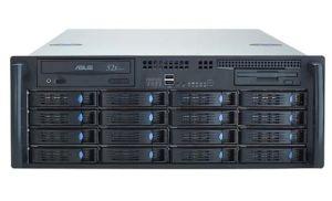 NS1630-4U NAS+ISCSI Mode Storage Array With 16 HDD Trays
