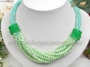 Cat′s Eye Necklace, Beads Jewelry