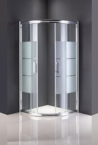 Sanitary Ware Shower Room Glass Door Without Tray pictures & photos