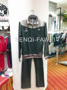 Man Fleece Clothes Suits for Hoody with Pants Fw-8658 pictures & photos
