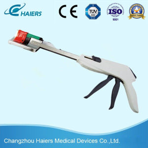 Disposable Curved Cutter Titanium Stapling pictures & photos