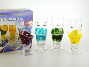 Handpainted Male Beer Glass (D02-156H) pictures & photos