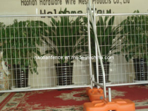 As4687-2007 Factory Hot Dipped Galvanized Temporary Fence pictures & photos