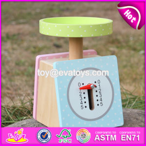 New Products Children Pretend Play Wooden Scale Toy W10d150 pictures & photos