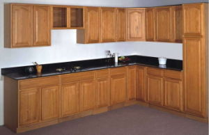 Classical Hard Maple Wood Cupboards Cabinets pictures & photos
