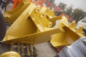 China High Quality V Ditch Bucket Trapezoidal Excavator Bucket pictures & photos