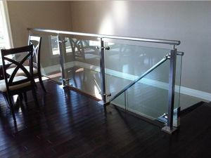 Tempered Glass Balcony Fence for Sale pictures & photos