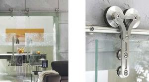 Barn Door Hardware Glass Door Sliding Track Set pictures & photos