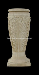 Stone Carving Flower Pot (VS322) pictures & photos