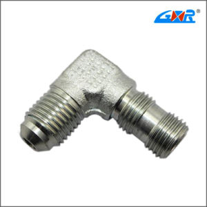90 Degree Elbow Jic Male 74 Degree Cone/SAE O-Ring Boss L-Series Hose Connector pictures & photos