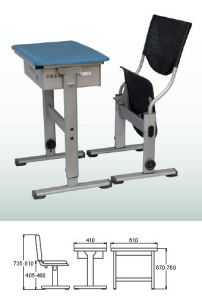 School Desk and Chair  (KZ-03)