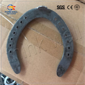 Steel (Q235) Forged Horseshoe for Racing Horse pictures & photos