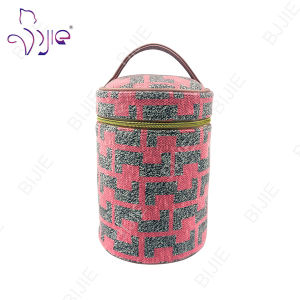 Lady Pink 2016 New Fashion Organizer Cylindrical Storage Bag pictures & photos