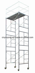 "Steel Mason Frame Tower Scaffold 60""Wx84""Lx247""H Scaffolding"
