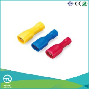 Utl Fdfd Series Female Full Insulated Cable Lugs Wire Connector pictures & photos