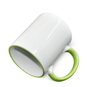2016 Print Mug Logo 11oz Rim Handle Color Mug Custom Photo Mugs pictures & photos