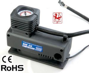 DC12V Car Use Electric Portable Mini Air Compressor Pump Inflator (TM10E)