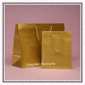 Matt Gold Paper Gift Bags (JCBB-1072)