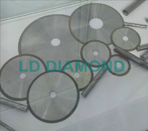 Resin Bond Diamond Grinding Wheel for Cutting Carbide Rods
