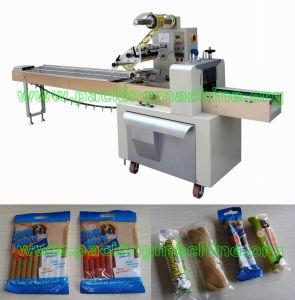 Long Tube Dog Snack Packing Machine