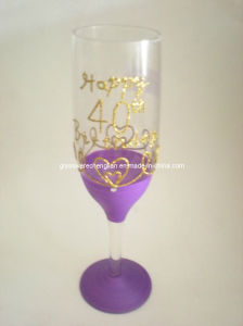 Handpainted Champagne Glass Gift (B-0622) pictures & photos