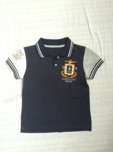 Children Clothing/Polo Shirt/ Kids Clothes Sq-6262 pictures & photos