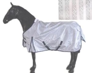 White New Pattern Mesh Horse Fly Sheet pictures & photos