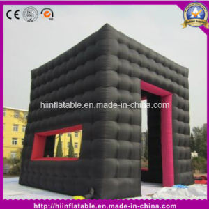 Black Good Quality Inflatable Booth Tent for Acticity