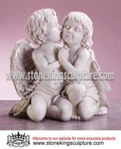 Marble Garden Statues Angels (SK-2195) pictures & photos