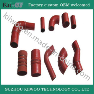 Straight Silicone Hump Hose Rubber Pipe pictures & photos