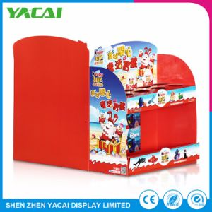 Unfolded Paper Connect Exhibition Stand Retail Display Rack for Stores pictures & photos