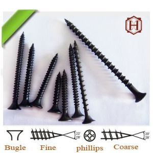 Screw/Drywall Screw/Bugle Head Phillips Drive Drywall Screw with Twin-Fast Thread pictures & photos