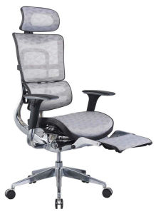Ergonomic High Back Office Desk Chair with Footrest pictures & photos