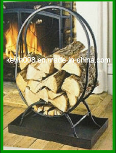 Steel Black Log Hoop